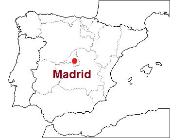 Madrid, dove si trova