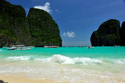 The Beach, Maya Bay, isola Phi Phi Leh