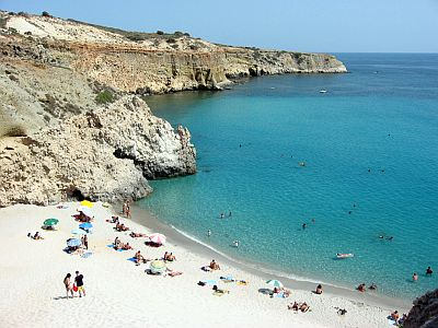Tsigrado beach, Milos