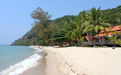 White sand beach, Ko Chang